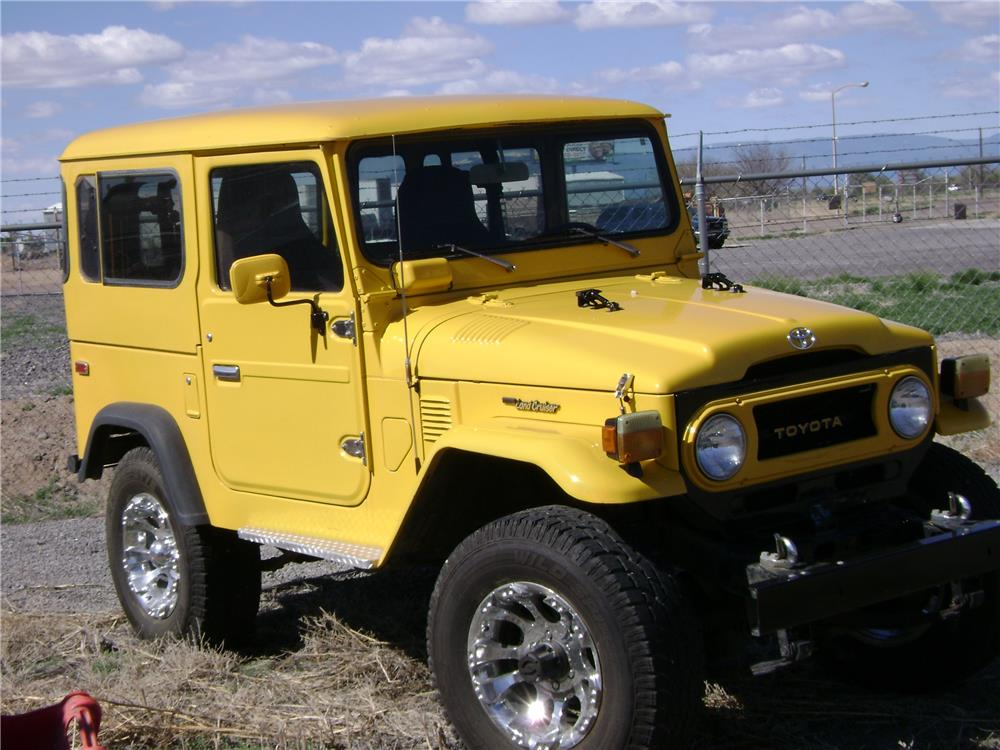 1977 TOYOTA LAND CRUISER FJ-40 CUSTOM SUV - Side Profile - 181532