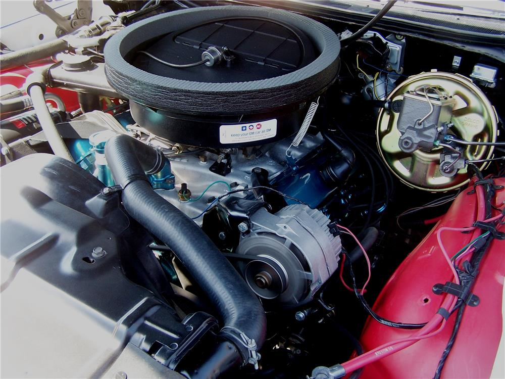 1970 OLDSMOBILE 442 W30 CONVERTIBLE - Engine - 181537