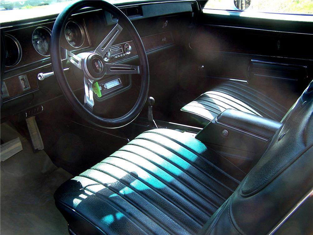1970 OLDSMOBILE 442 W30 CONVERTIBLE - Interior - 181537