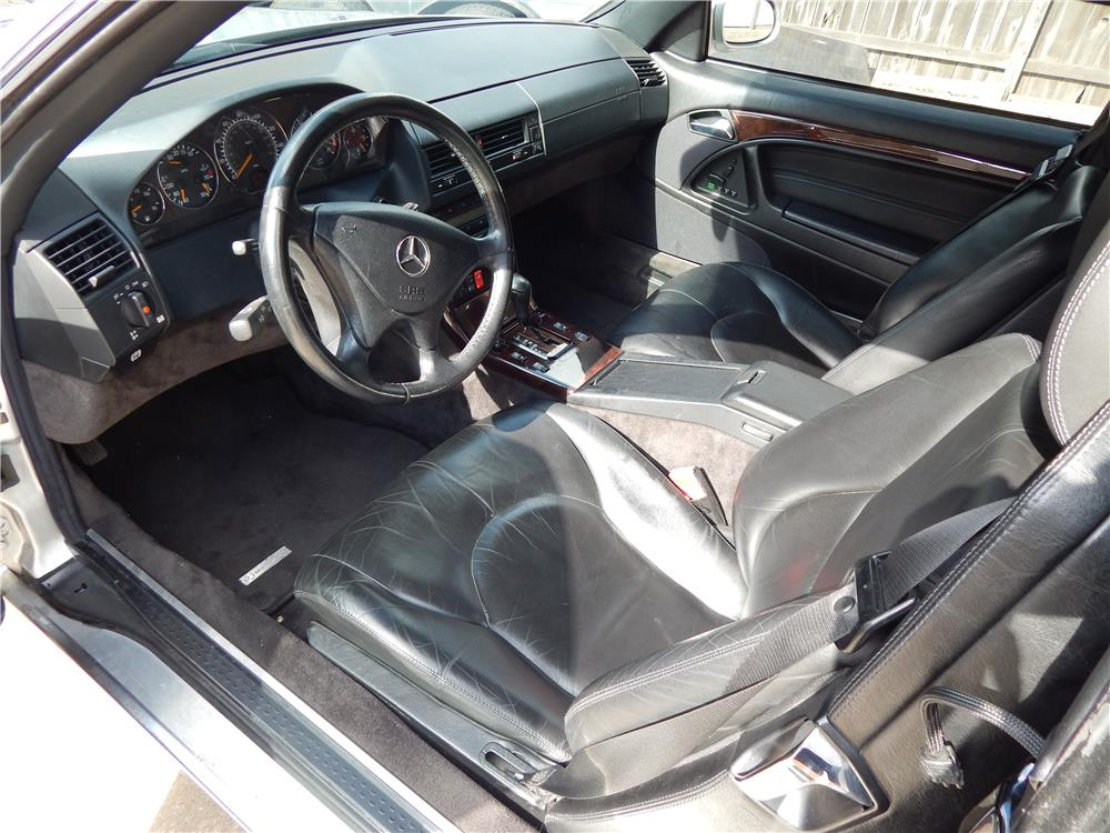 2000 MERCEDES-BENZ SL500 CONVERTIBLE - Interior - 181540