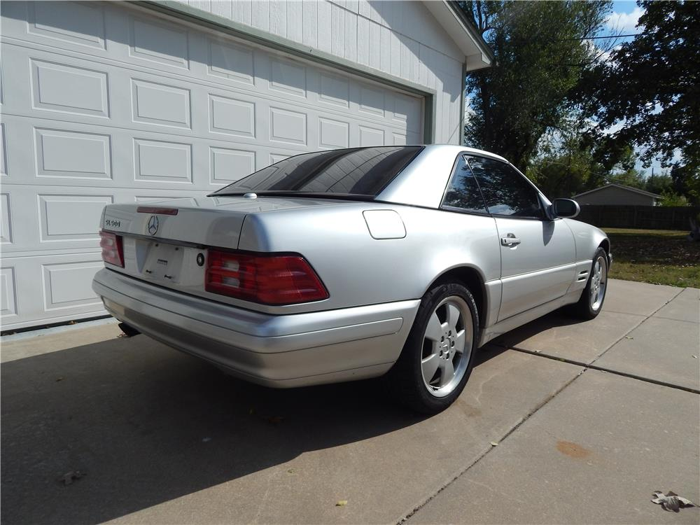 2000 MERCEDES-BENZ SL500 CONVERTIBLE - Rear 3/4 - 181540