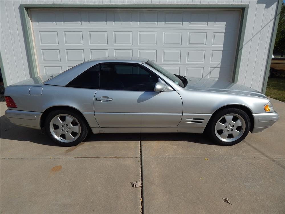 2000 MERCEDES-BENZ SL500 CONVERTIBLE - Side Profile - 181540