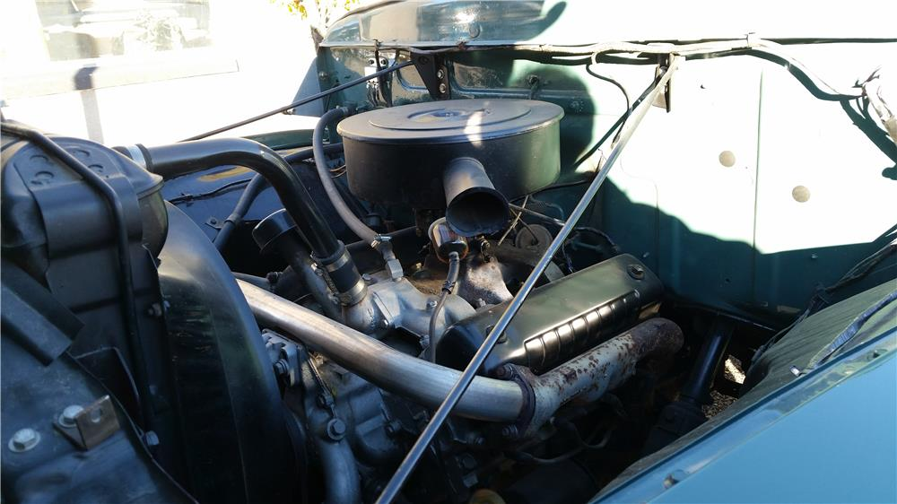 1955 FORD F-350 FLATBED TRUCK - Engine - 181541