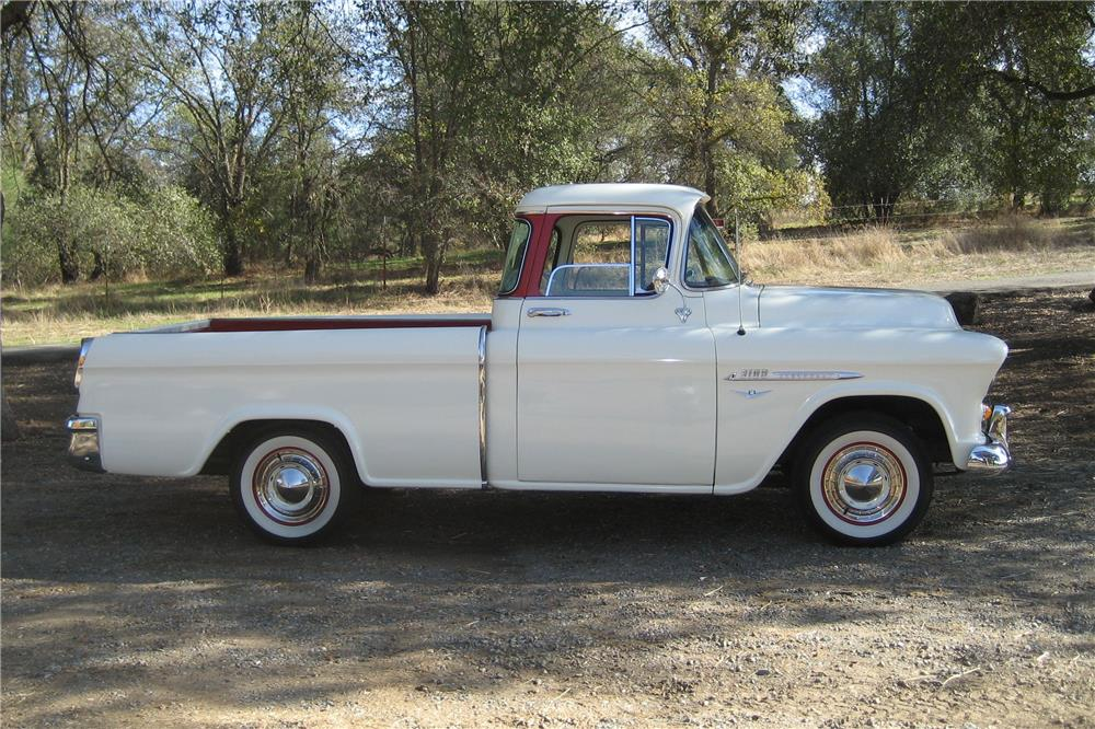 1955 CHEVROLET CAMEO PICKUP - Side Profile - 181543