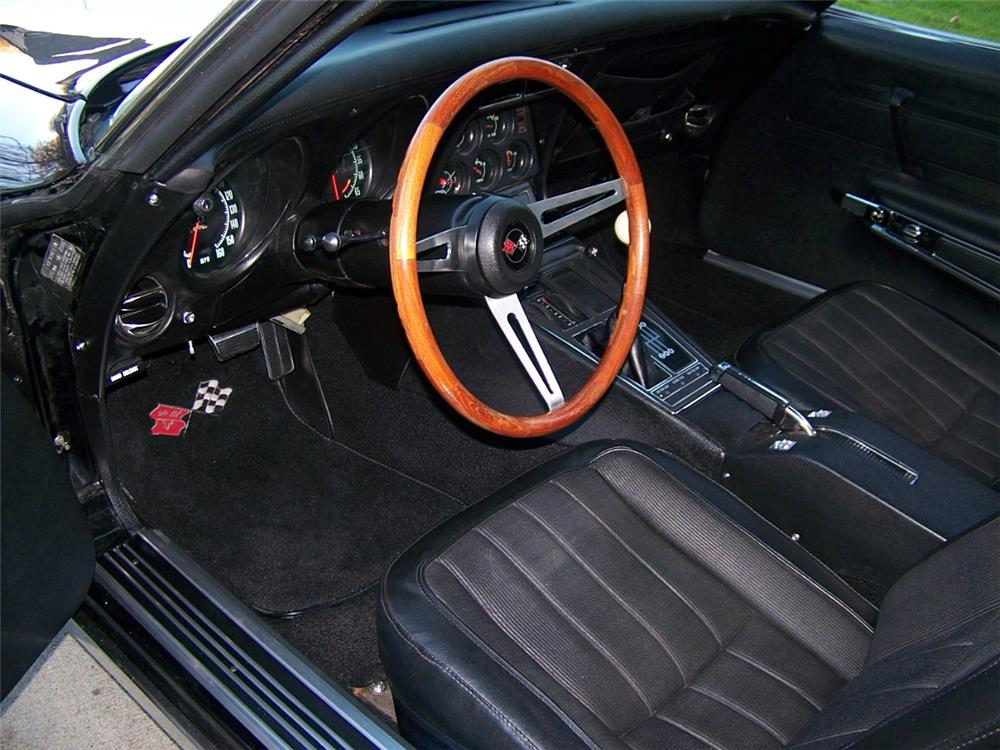 1970 CHEVROLET CORVETTE CUSTOM - Interior - 181546