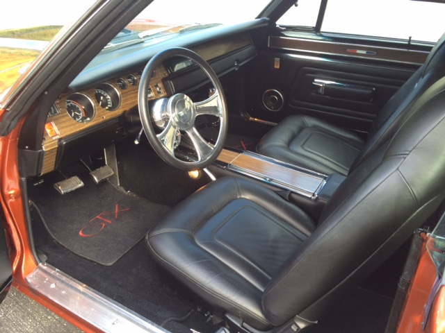 1970 PLYMOUTH GTX CUSTOM - Interior - 181557