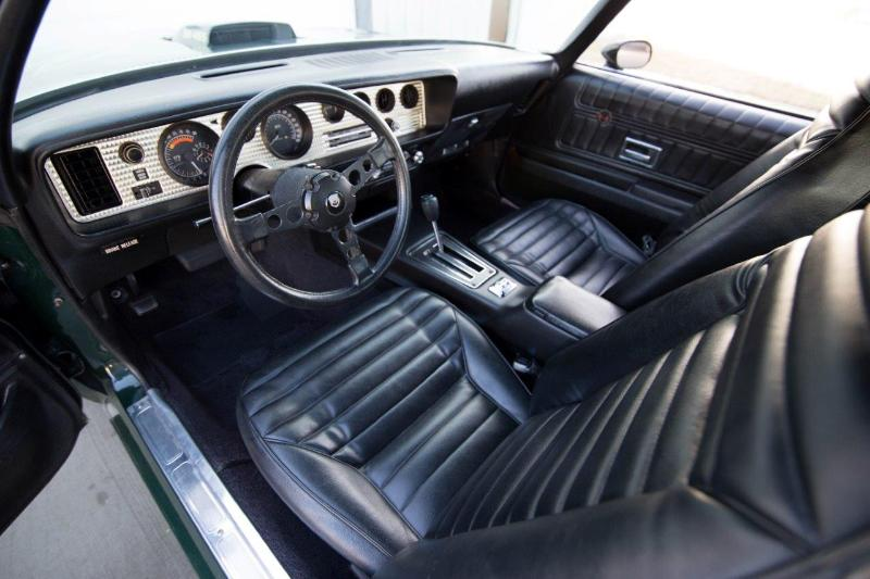 1973 PONTIAC FIREBIRD TRANS AM SUPER DUTY 455 - Interior - 181562