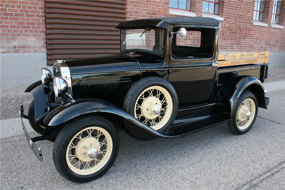 1931 FORD PICKUP - Front 3/4 - 181568