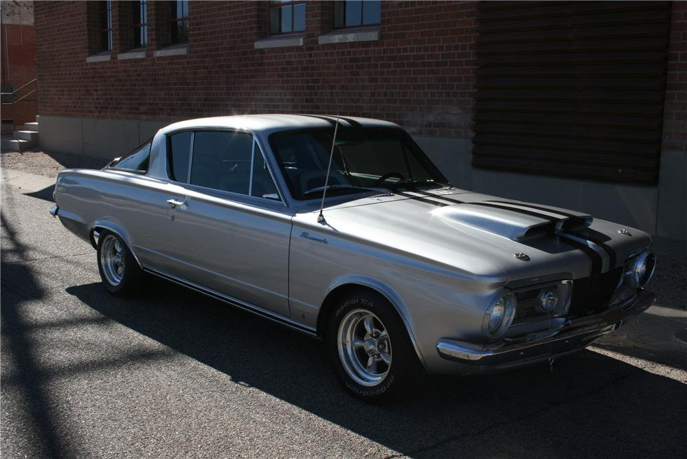 1965 PLYMOUTH BARRACUDA CUSTOM - Front 3/4 - 181569