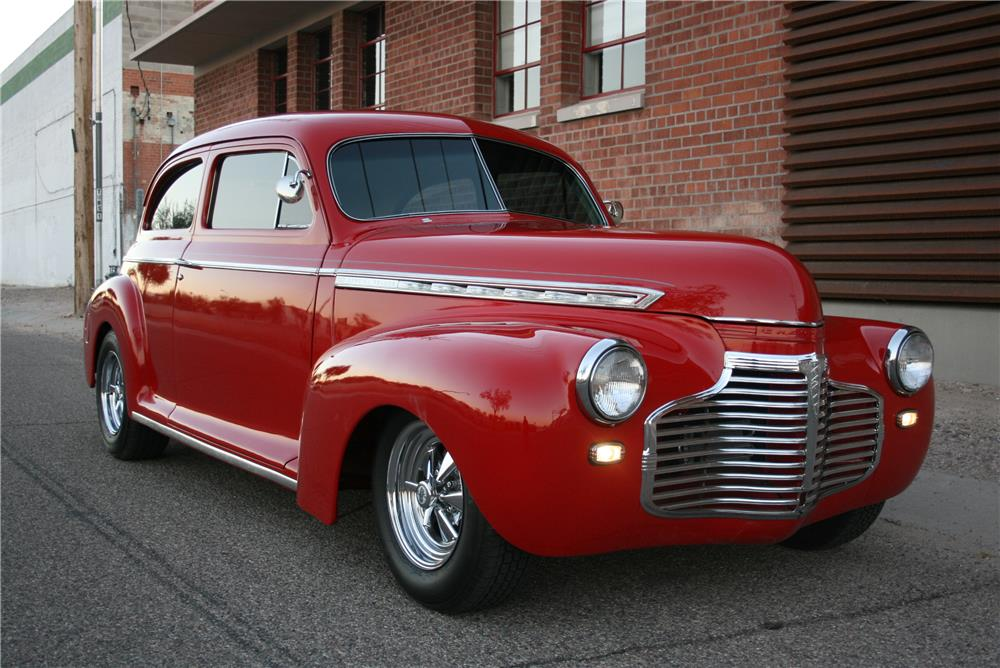 1941 chevrolet custom 2 door sedan 181571 for 1941 chevy 4 door sedan