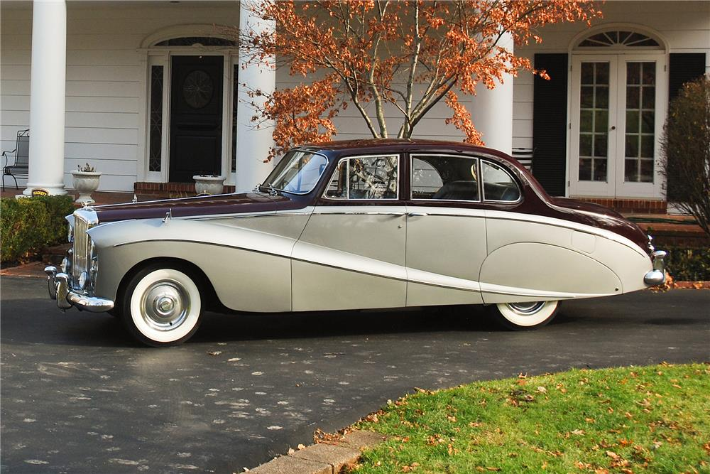 1956 BENTLEY S-1 HOOPER LIMOUSINE - Side Profile - 181572