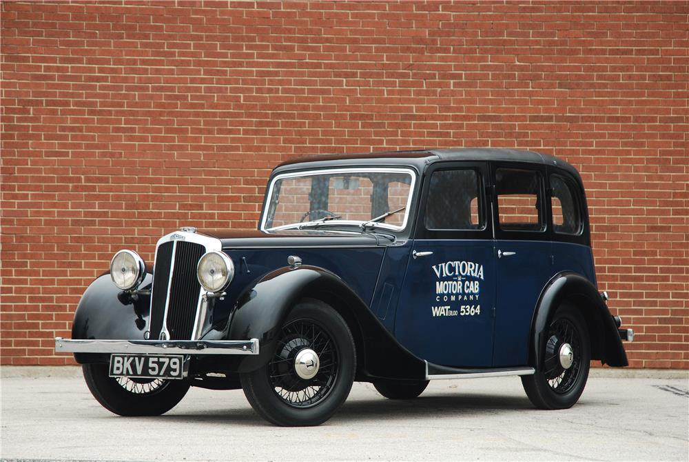 1937 LANCHESTER ELEVEN TAXI CAB - Side Profile - 181575