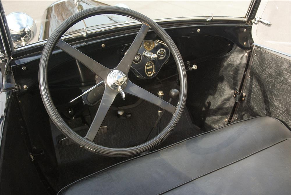 1929 FORD MODEL A ROADSTER - Interior - 181576