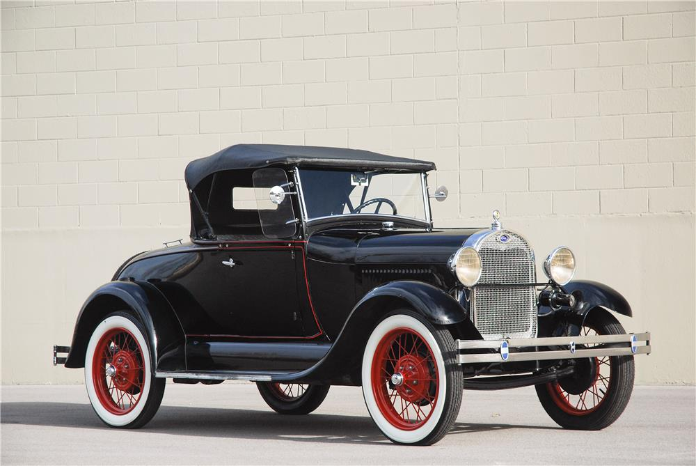 1929 FORD MODEL A ROADSTER - Side Profile - 181576