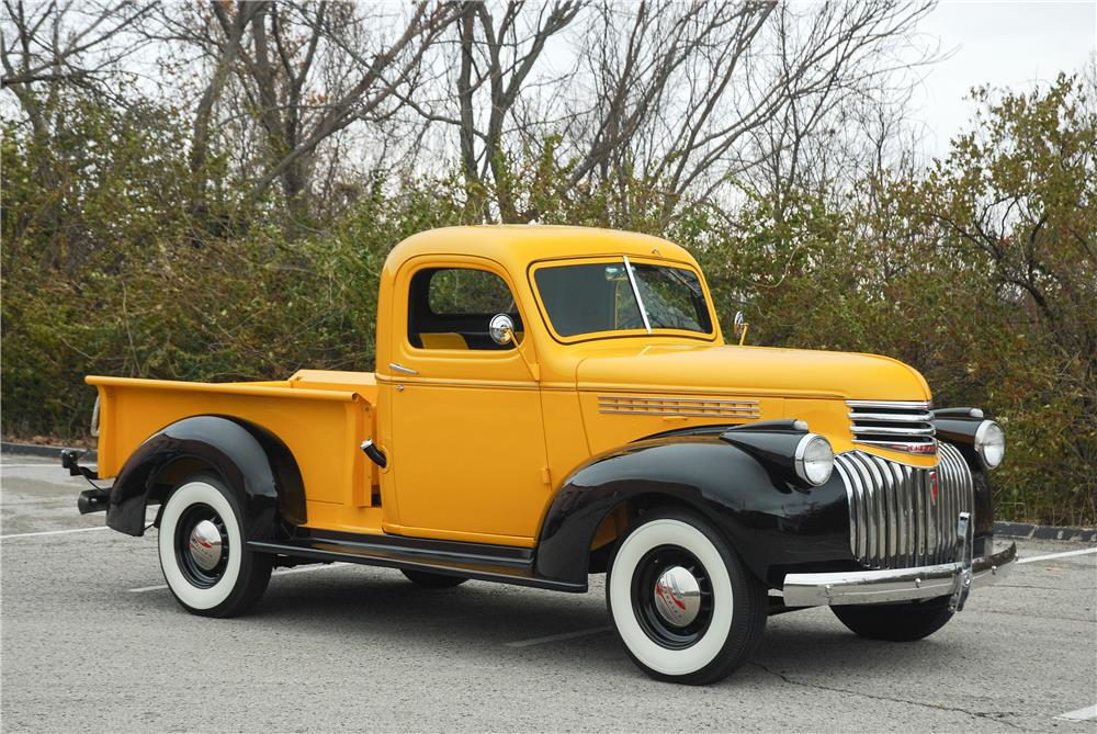1946 CHEVROLET 3100 DP 1/2 TON PICKUP - Side Profile - 181580