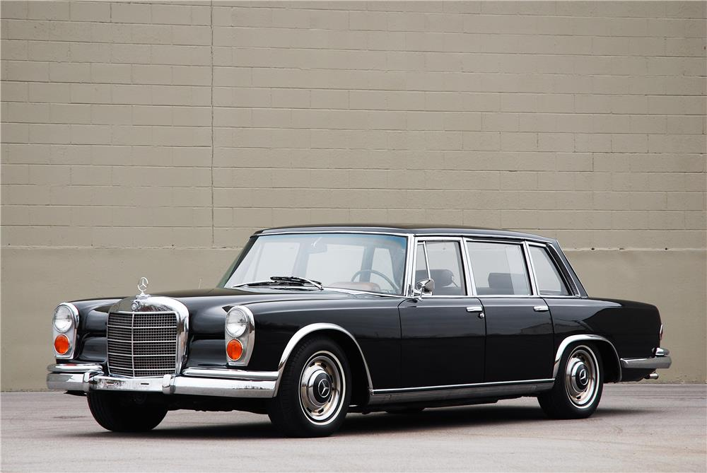 1967 MERCEDES-BENZ 600 SWB SEDAN - Front 3/4 - 181586