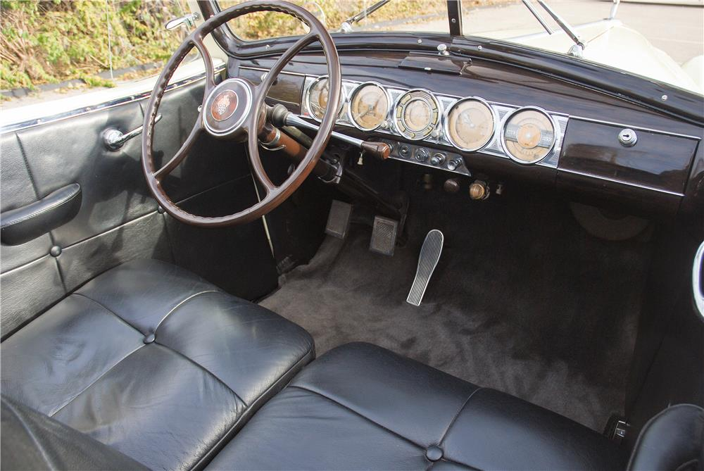 1939 PACKARD 12 BOATTAIL SPEEDSTER - Interior - 181588