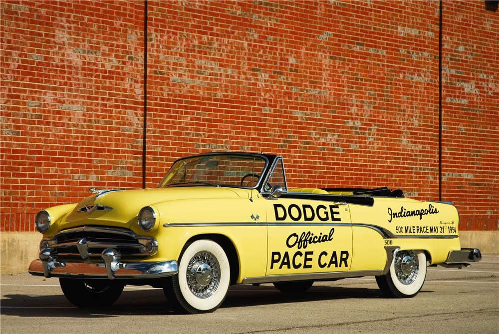 1954 DODGE ROYAL INDIANAPOLIS 500 PACE CAR CONVERTIBLE - Front 3/4 - 181589