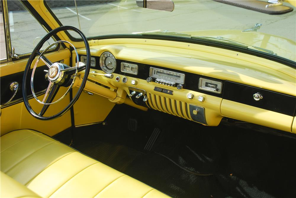 1954 DODGE ROYAL INDIANAPOLIS 500 PACE CAR CONVERTIBLE - Interior - 181589