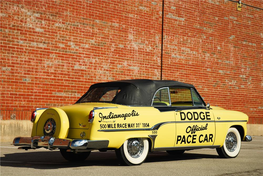 1954 DODGE ROYAL INDIANAPOLIS 500 PACE CAR CONVERTIBLE - Rear 3/4 - 181589