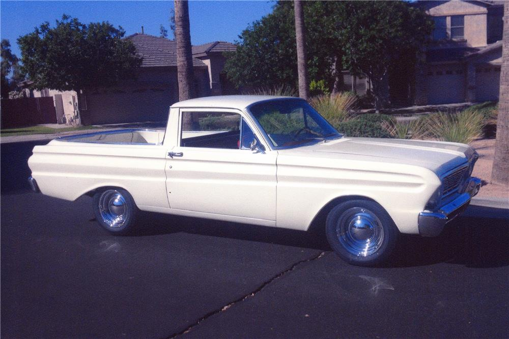 1964 FORD RANCHERO CUSTOM PICKUP - Front 3/4 - 181604