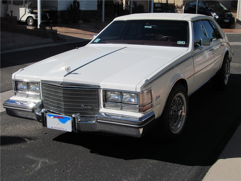 1984 CADILLAC SEVILLE 4 DOOR SEDAN - Front 3/4 - 181608