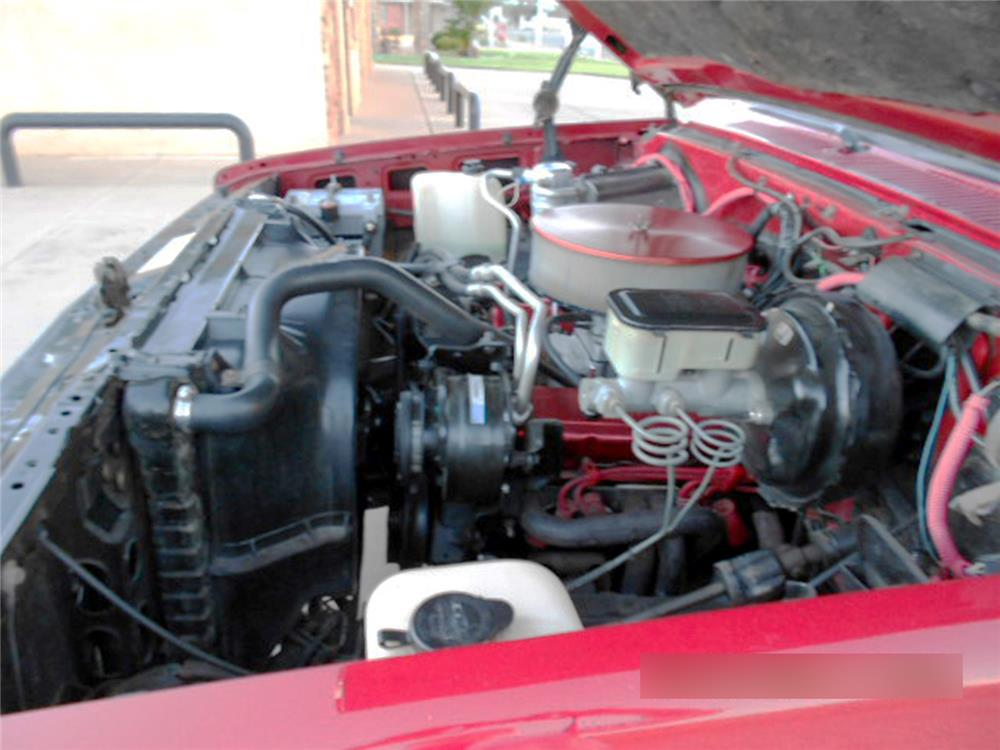 1985 GMC SIERRA PICKUP - Engine - 181613