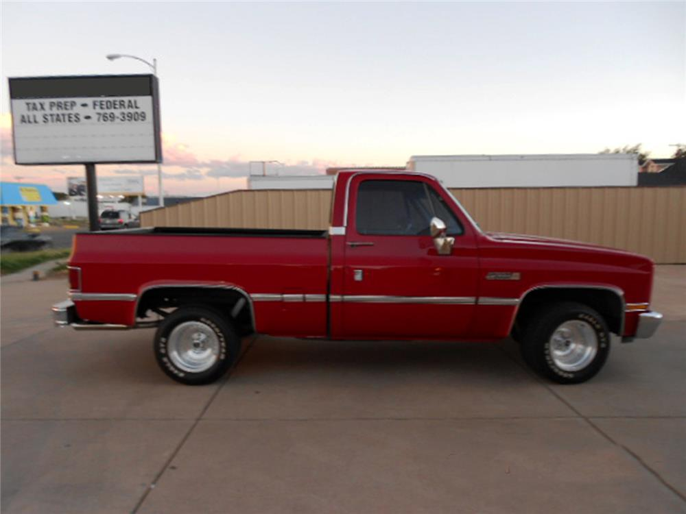 1985 GMC SIERRA PICKUP - Side Profile - 181613