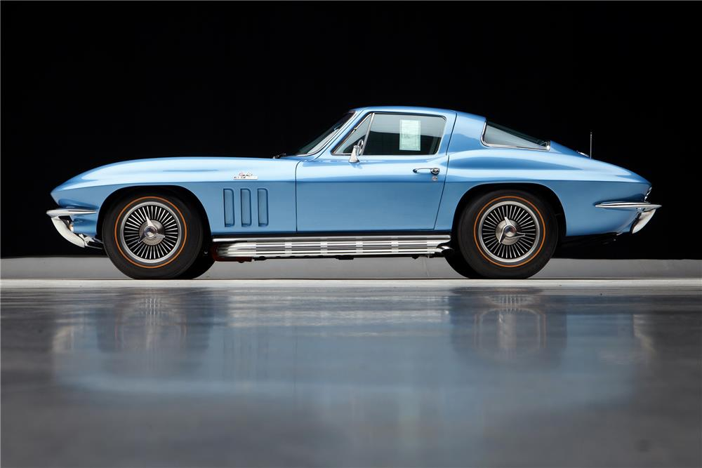 1966 CHEVROLET CORVETTE - Side Profile - 181622