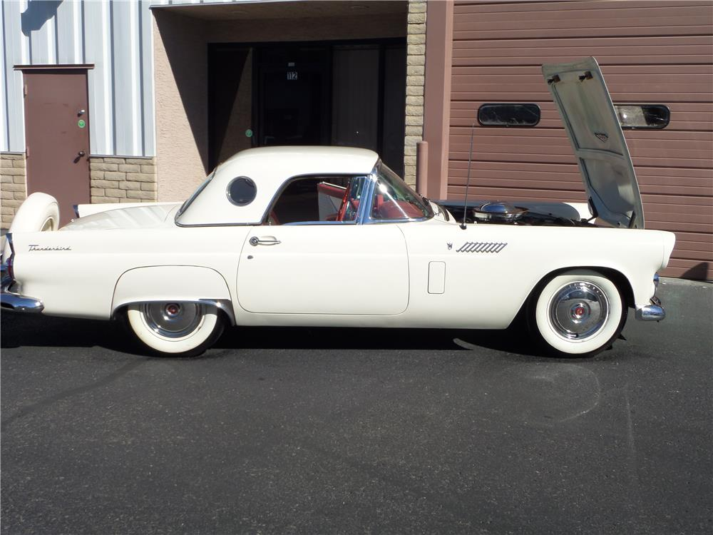 1956 FORD THUNDERBIRD CONVERTIBLE - Side Profile - 181623