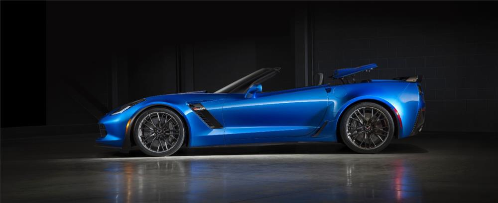 "2015 CHEVROLET CORVETTE Z06 CONVERTIBLE ""1ST RETAIL"" - Side Profile - 181625"