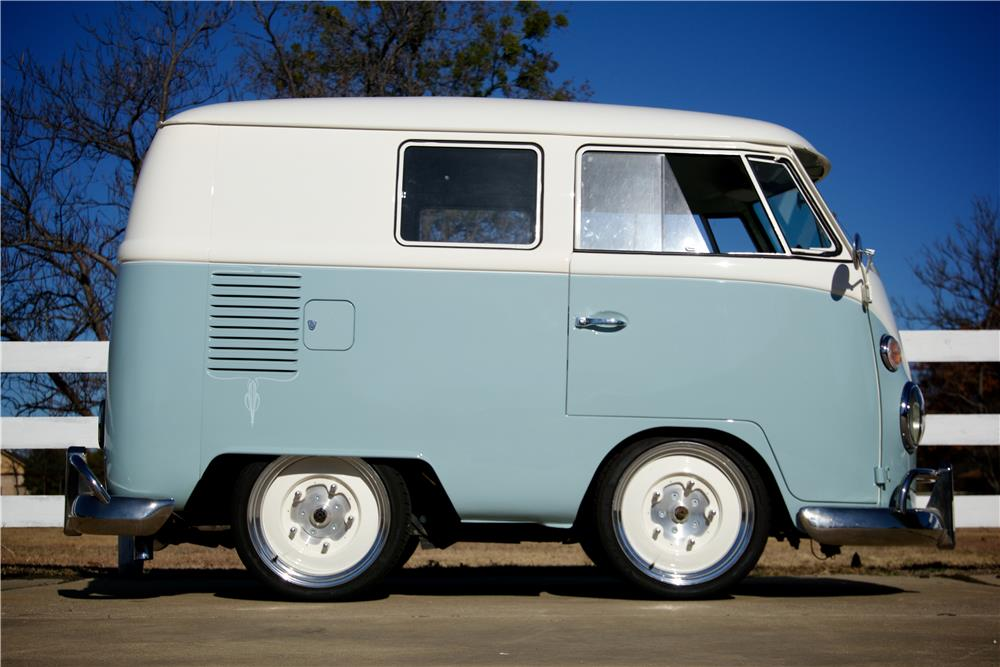 1966 VOLKSWAGEN VAN CUSTOM SHORTY BUS - Side Profile - 181627