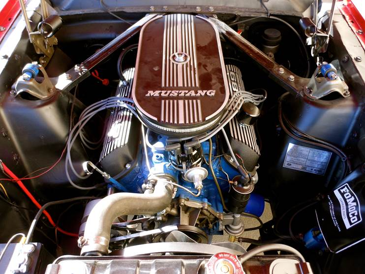 1965 FORD MUSTANG CUSTOM - Engine - 181632