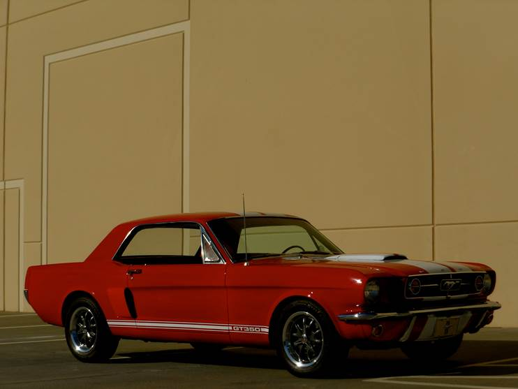 1965 FORD MUSTANG CUSTOM - Side Profile - 181632