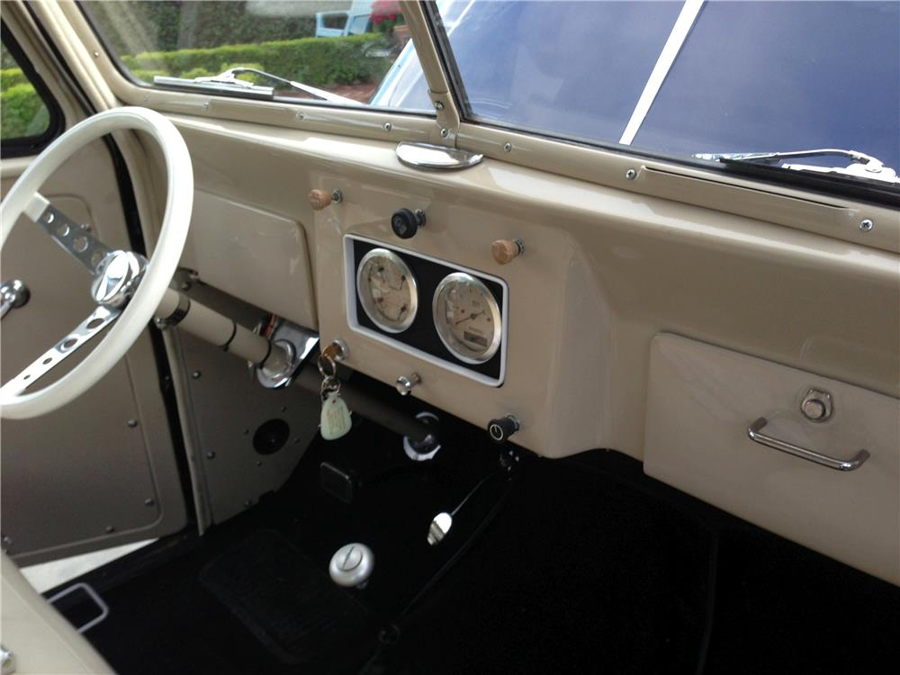 1950 WILLYS TIN WOODY RECREATION - Interior - 181639