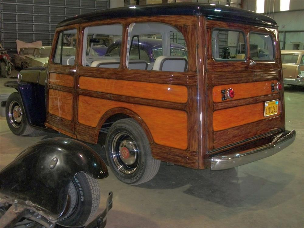 1950 WILLYS TIN WOODY RECREATION - Rear 3/4 - 181639