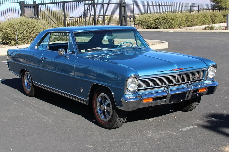 1966 CHEVROLET NOVA SS L79 - Side Profile - 181640