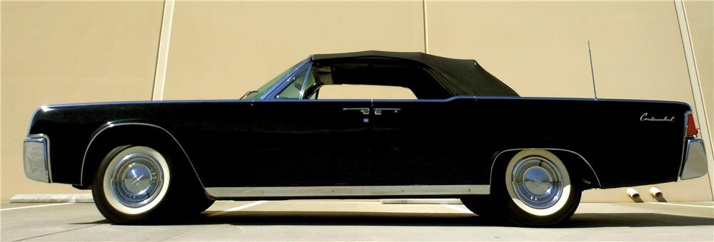 1961 lincoln continental 4 door convertible 181642. Black Bedroom Furniture Sets. Home Design Ideas
