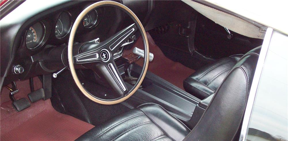1970 FORD MUSTANG 428 CJ FASTBACK - Interior - 181643
