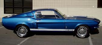 1967 FORD MUSTANG CUSTOM FASTBACK - Side Profile - 181646