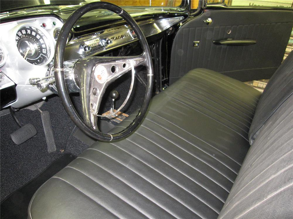 1957 CHEVROLET BEL AIR CUSTOM - Interior - 181652