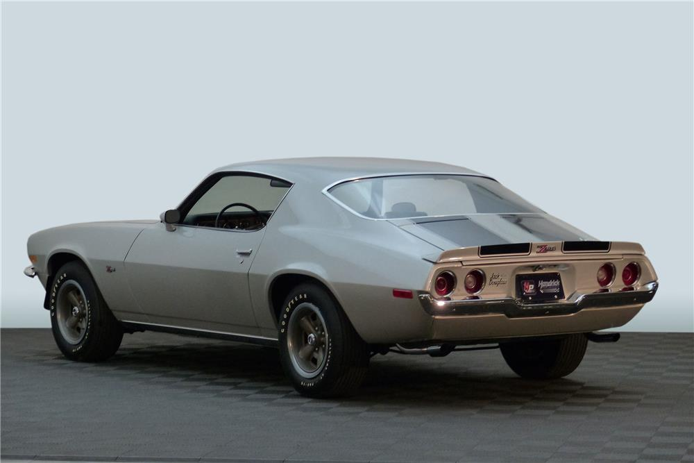 1970 CHEVROLET CAMARO Z/28 RS - Rear 3/4 - 181676