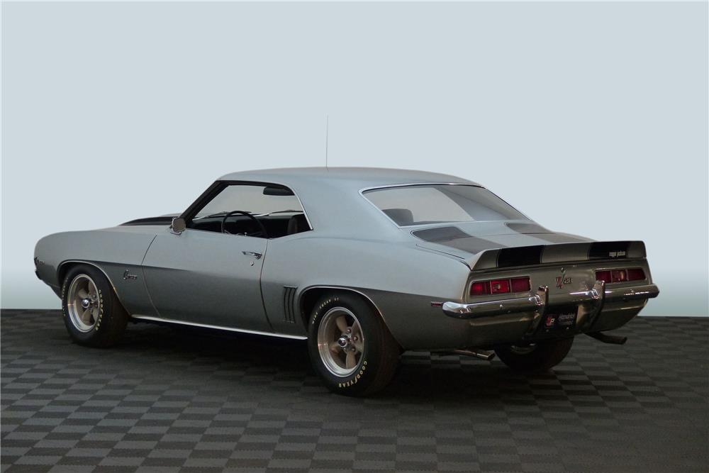 1969 CHEVROLET CAMARO Z/28 - Rear 3/4 - 181682