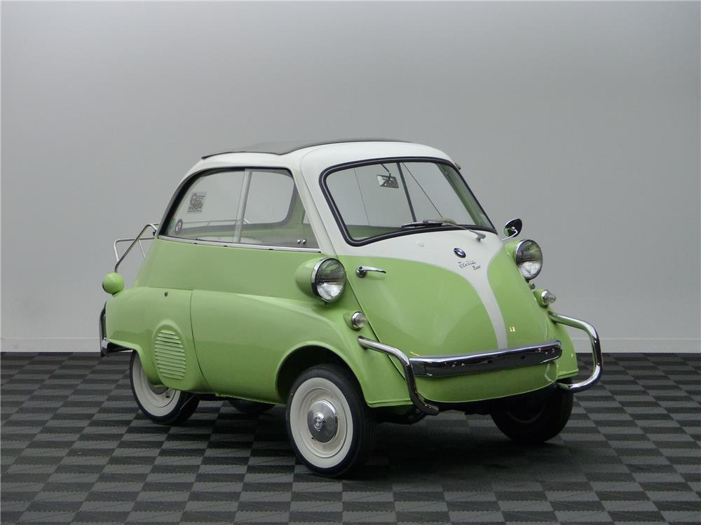 1958 BMW ISETTA COUPE - Front 3/4 - 181683