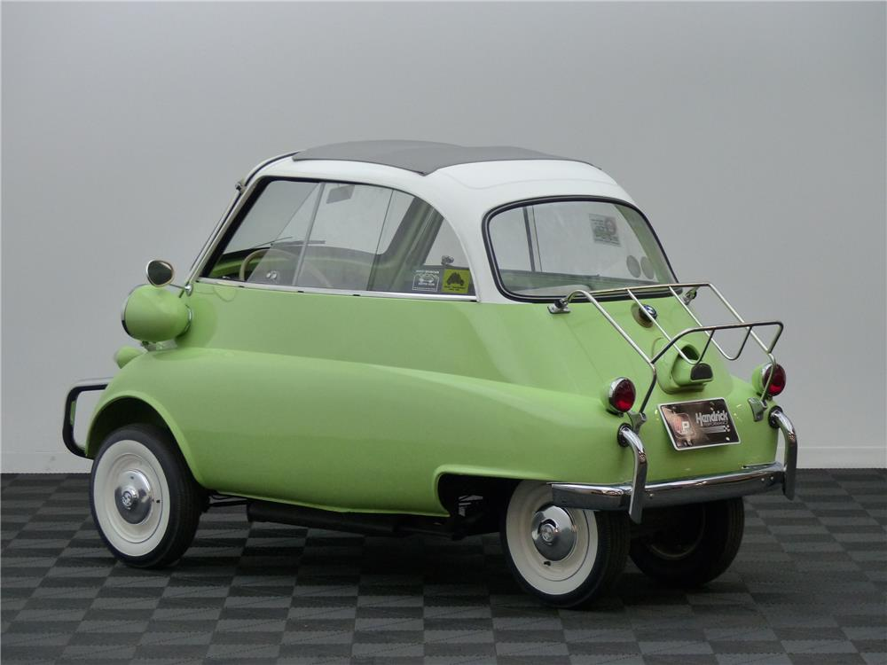 1958 BMW ISETTA COUPE - Rear 3/4 - 181683