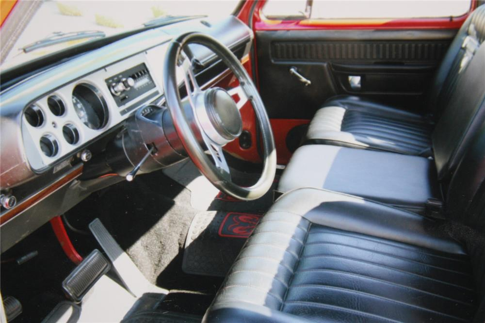 1978 DODGE LIL RED EXPRESS PICKUP - Interior - 181707