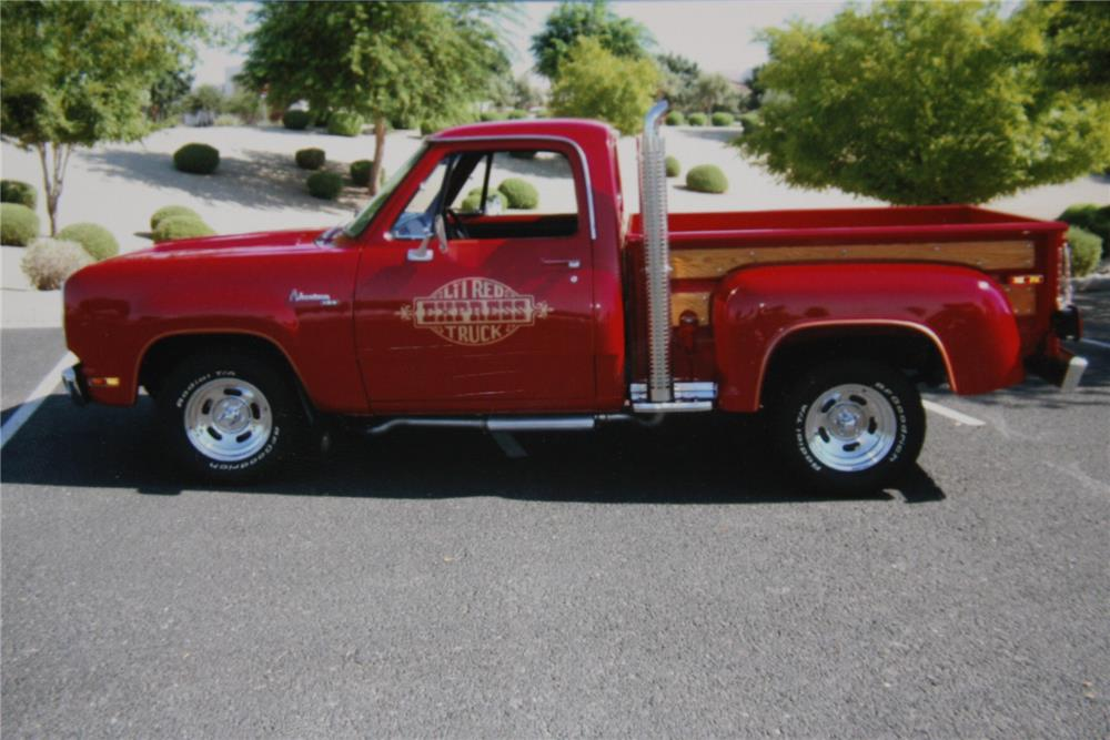1978 dodge lil red express pickup side profile 181707. Cars Review. Best American Auto & Cars Review