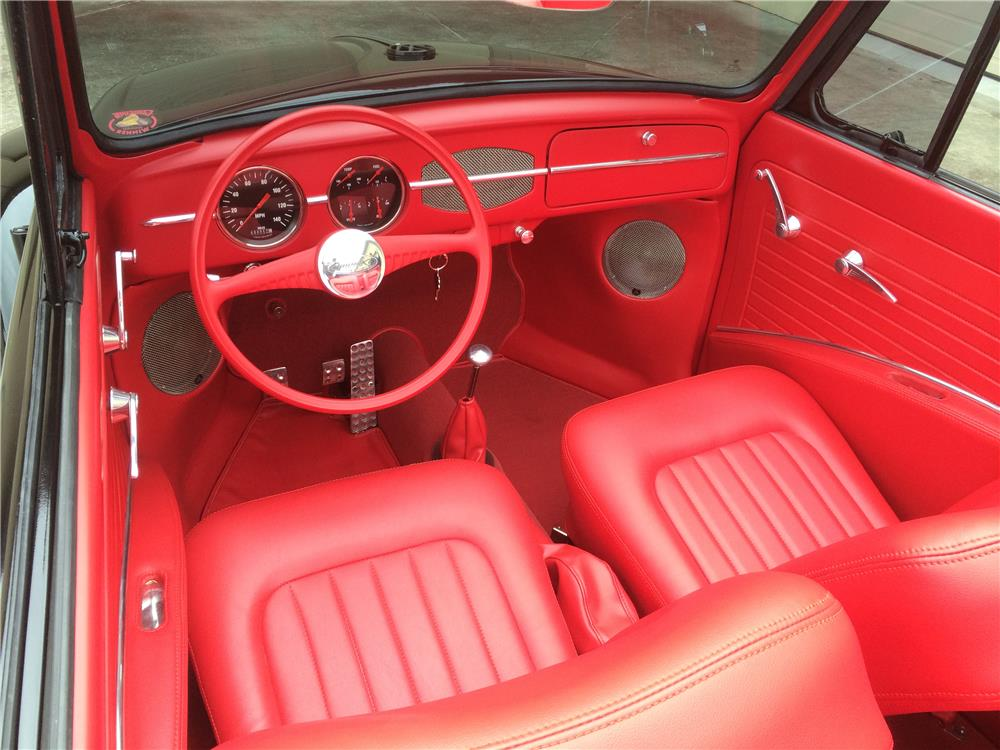 1966 VOLKSWAGEN BEETLE CUSTOM CONVERTIBLE - Interior - 181709