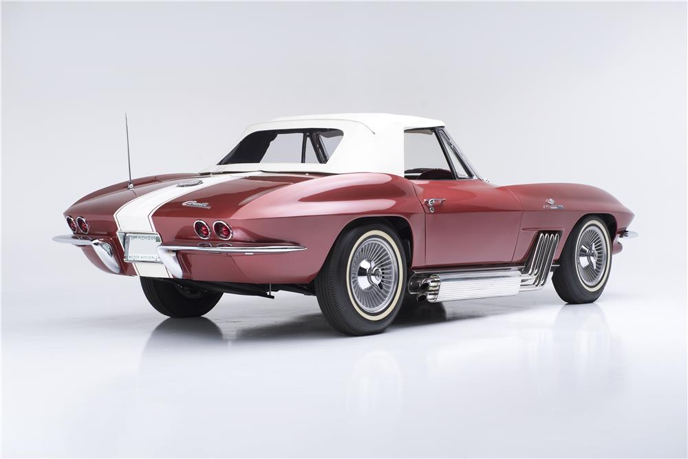 "1963 CHEVROLET CORVETTE STYLING CAR ""BUNKIE KNUDSEN'S"" - Rear 3/4 - 181713"