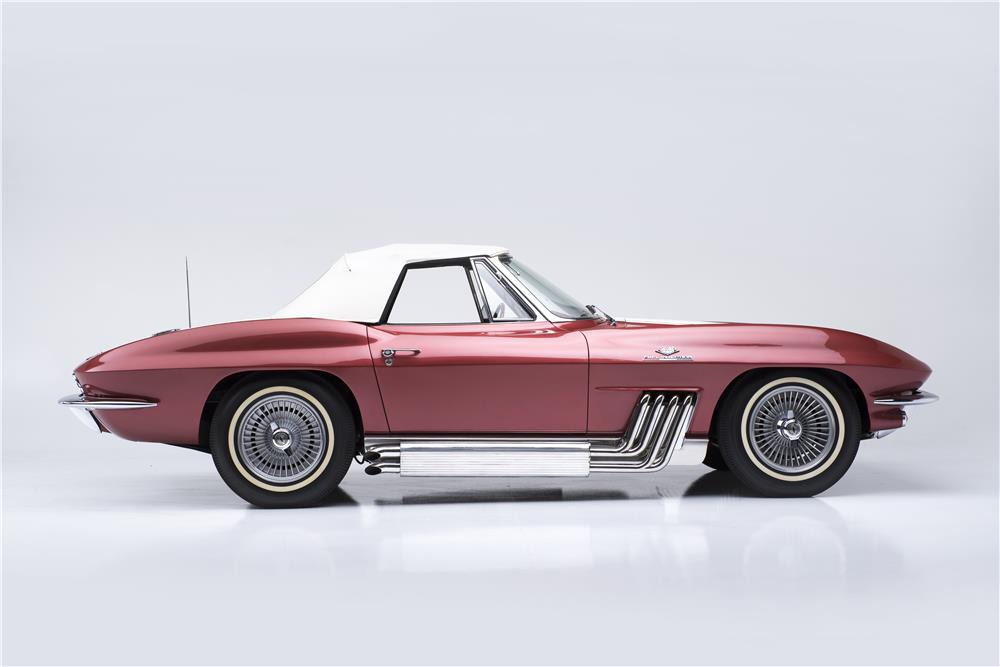 "1963 CHEVROLET CORVETTE STYLING CAR ""BUNKIE KNUDSEN'S"" - Side Profile - 181713"